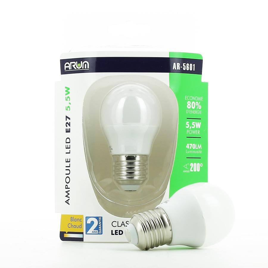 Ampoule LED G45 E27